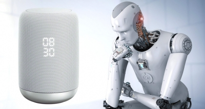 We are looking for artificial intelligence and we get ... a speaker.